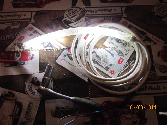 Светодиодный фонарь монтажников.